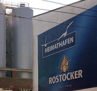 Bier Rostocker Fassade