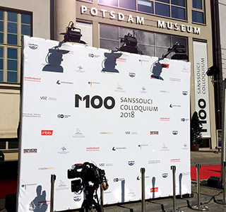 Medien Potsdam Stellwand