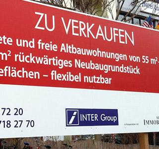 Wohnen Berlin Dibond