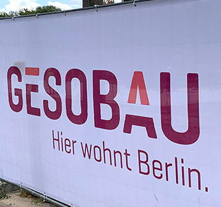 GESO Bauzaun & Kran